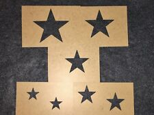 MILITARY VEHICLE STAR STENCIL SET - M35A2 CUCV M151A2 WILLYS JEEP TRUCK US ARMY
