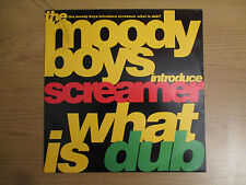 "The Moody Boys Introduce  Screamer – What Is Dub? VINYL 12"" 45RPM UK 1991 EVOLX3"