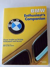 BMW Enthusiasts Companion Book Luxury Sports Car Manual GuideBook Auto Care