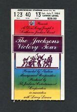 1984 Michael Jackson Concierto Ticket Stub Victoria Tour Thriller Kansas