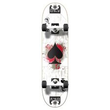 Yocaher Graphic Ace White Complete Skateboard