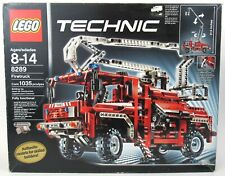 LEGO 8289 Technic Firetruck 100% Complete W/ Instructions & Box