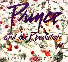 PRINCE & THE REVOLUTION 1984 / 1985 PURPLE RAIN TOUR PROGRAM BOOK / NEAR MINT