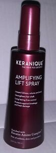 Keranique AMPLIFYING. LIFT AND REPAIR Treatment Spray for  Hair, 3.4 OZ NEW