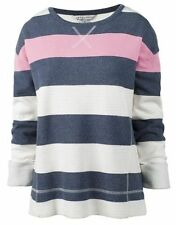 Sweatshirt Striped Crew Clothing for Women