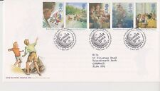 GB ROYAL MAIL FDC FIRST DAY COVER 1997 ENID BLYTON STAMP SET BUREAU PMK