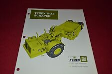 Terex S-32 Scraper Pan Dealer's Brochure DCPA6