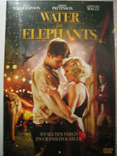 Water For Elephants (DVD, 2011) nEW SEALED PAl Region 2 Nordic Packaging
