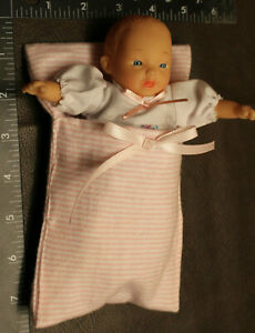 """🍼 2000 Circo Cititoy 6""""  Baby Doll, Soft Body TC6 ~ comes in bunting"""