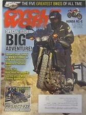 Cycle World Magazine February 2012 Special Issue Big Adventure Yamaha Super Tene