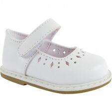 NIB Baby Deer White Leather Mary Jane Shoe Size 11