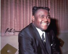Fats Domino Music Legend Signed Authentic Autographed 8x10