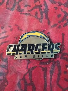 SAN DIEGO CHARGERS BELT BUCKLE NFL BUCKLES NEW