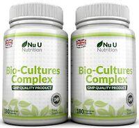 Probiotics 2 bottles 360 Caps 10 Billion Forming CFU's yeast infections  Nu U