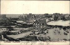 La Panne Belgien Belgique Flandern 1907 Strand Meer Häuser Dünen gut frankiert