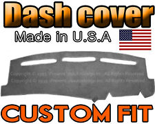 Fits 2014  CHEVROLET  TAHOE  DASH COVER MAT DASHBOARD PAD  /  CHARCOAL GREY
