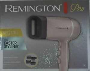 REMINGTON Pro Wet2Style HAIR DRYER 1875W 120V 2 Speed Settings