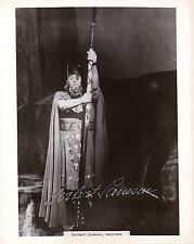 HERBERT JANSSEN opera baritone signed photo Wotan