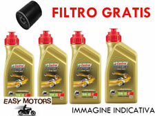 TAGLIANDO OLIO MOTORE + FILTRO OLIO MOTO GUZZI NEVADA/NEVADA CLUB 750 91/03