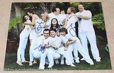 MODERN FAMILY CAST SIGNED AUTHENTIC 11X14 PHOTO w/COA X4 BOWEN BURRELL FERGUSON+