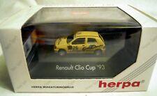 """035835 Herpa RENAULT CLIO Cup 1993 """"gran Dorado"""" 1/87"""