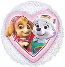"PAW PATROL PARTY SUPPLIES 21"" HOLOGRAPHIC NO MESSAGE SKYE & EVEREST FOIL BALLOON"