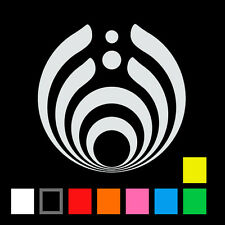 "Bassnectar logo 4"" vinyl sticker decal"