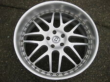 1 Single BMW HRE 22X10 ET 14mm 3 Piece forged wheel  excellent Condition