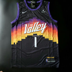Devin Booker 1 THE Valley City Edition Men's Jersey Size L  NWT