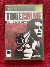 True Crime: Streets of L.A. (Microsoft Xbox, 2003)