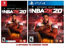 NBA 2K20 - Options: Nintendo Switch or PS4 Sony Play Station 4