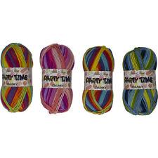 James Brett Party Time Chunky Knitting Yarn 1 5 or 10 x 100g Ball 100% Acrylic