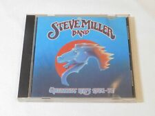 Greatest Hits 1974-78 by Steve Miller Band CD 1978 Capitol Records Fly Like an E