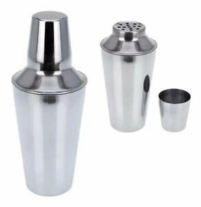 .75L Cocktail Shaker & Strainer Jigger – Stainless Steel Bar Drink Martini Mixer