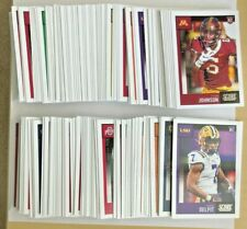 2020 SCORE FOOTBALL SINGLES CARD YOU PICK YOUR PLAYER TEAM FREE SHIPPING