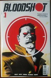 Bloodshot #1 cover d Meyers variant Valiant Entertainment