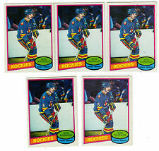 ROB RAMAGE 1980-81 OPC #213 RC Rookie Lot NRMT O Pee Chee