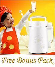 NEW Joyoung DJ13U-D08SG Soy Milk Maker 120V 1 Yr USA Warranty Soymilk + BONUS