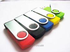 Lot of 100 4GB Custom USB Flash Drive 4G Thumb Pen Key Memory Stick Logo Gifts