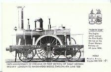 """Railway Postcard - """"North Star"""" - Engine Which Worked First Public Service  U714"""