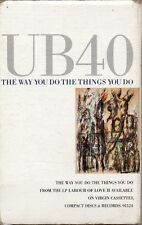 "UB40 ""THE WAY YOU DO THE THINGS YOU DO"" CASSETTE SINGLE 1989 virgin"