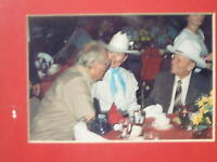 Gene Autry Red Skelton Autographs Photos Birthday