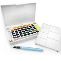 Sakura Koi Water Colours Pocket Field Sketch Box – 48 Assorted Colours