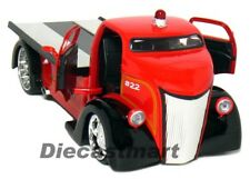 JADA HEAT 1:24 1947 FORD COE  COUNTY FIRE TRUCK RED