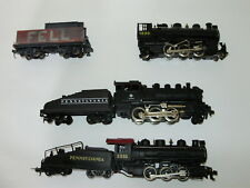 Assortment of small steam Locos. HO Scale. working/ not working. Mixed brands