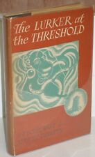 ~THE LURKER AT THE THRESHOLD by LOVECRAFT & DERLETH~1945 Arkham House SIGNED!