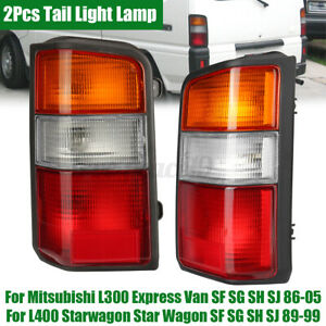 L & R Rear Tail Light Lamp For Mitsubishi L300 Express Van SF SG SH SJ