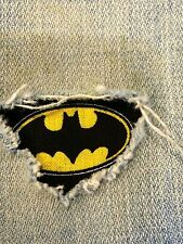 "Set of 2 Batman 4"" x 4"" Iron on Peek-A-Boo Jean Patches"