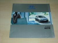 55036) Hyundai Getz Österreich Prospekt 200?