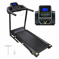3.0HP Folding Electric Treadmill Motorized Running Machine - Large Runway Size